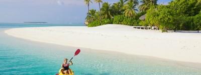 Conrad Maldives kayak