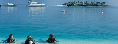 Conrad Maldives_Kids Diving