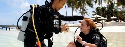 Conrad Maldives_Kids diving_
