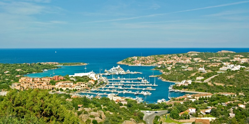 Best places to visit in Italy Porto Cervo
