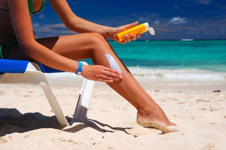 sun safety at the beach